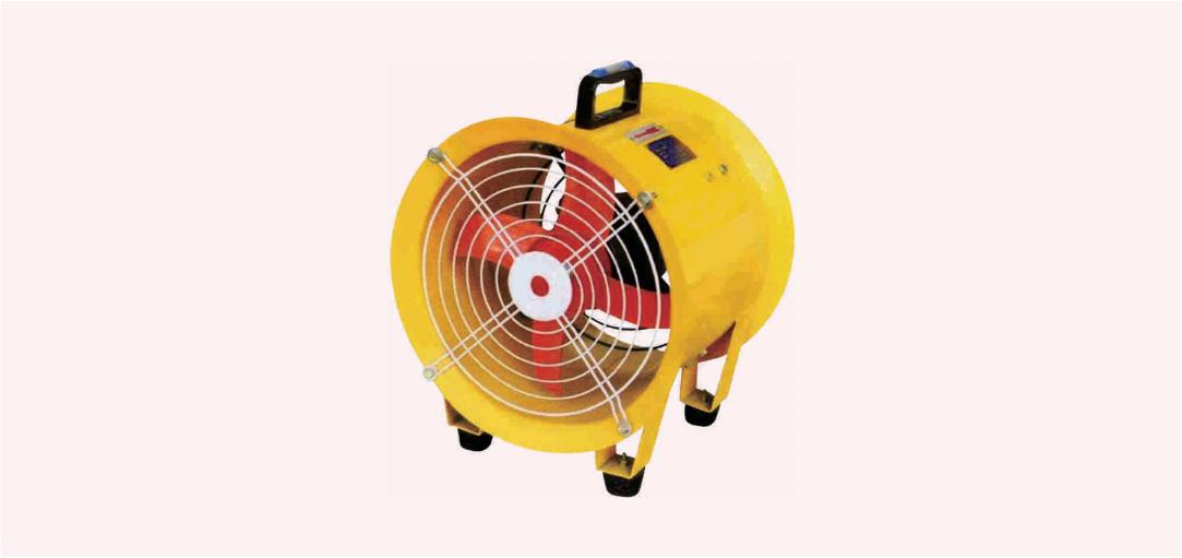 SFT 系列手提式安全轴流风机(ⅡB、ⅡC)