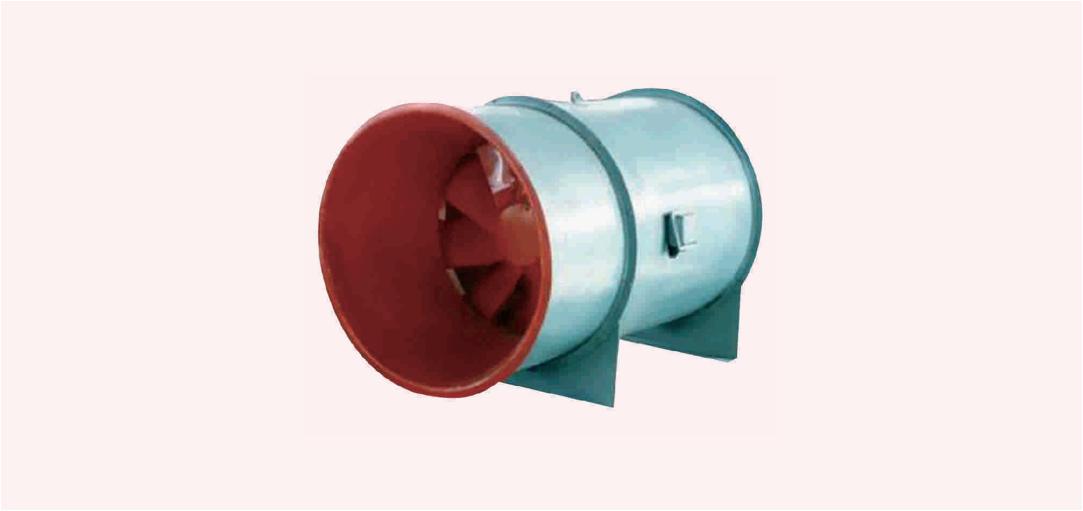 SWF 系列防爆低噪声高效(斜流式)通风机(ⅡB、ⅡC)