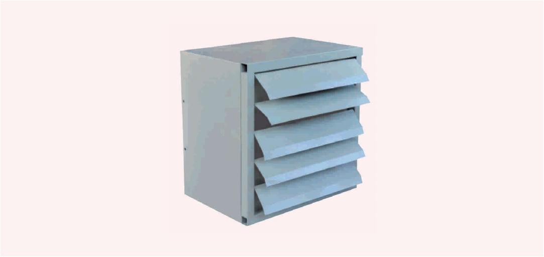 XBDZ 系列新型壁式防爆通风机(ⅡB、ⅡC)