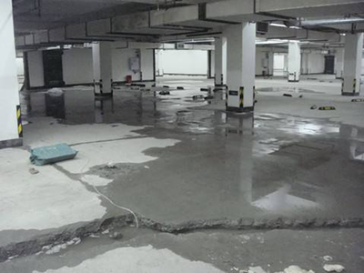 乌鲁木齐地下车库底板加固堵漏
