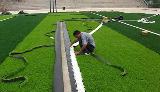 别墅铺装的人造草坪使用有什么注意事项