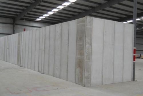 轻质隔墙板存储仓库现场