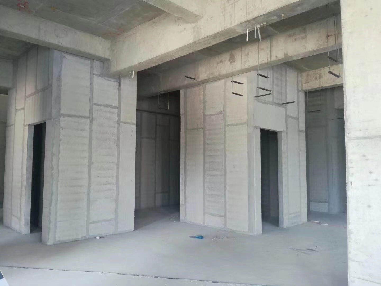 轻质隔墙板使用现场