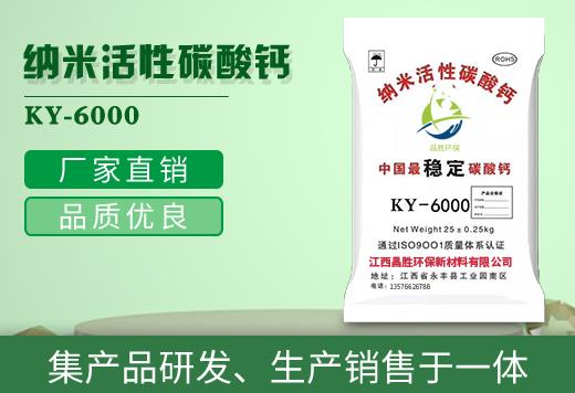纳米活性碳酸钙KY-6000