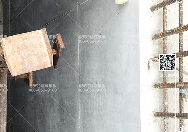 侧墙模板成型