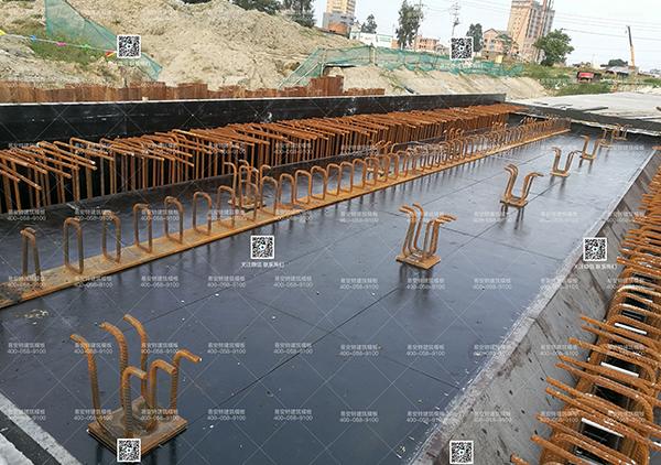 管廊顶板预埋构件