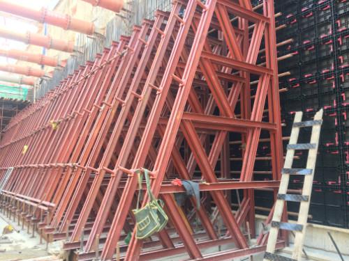 装配式塑料建筑模板