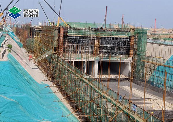中铁十二局雄安管廊5标项目案例