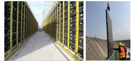 综合管廊施工模板