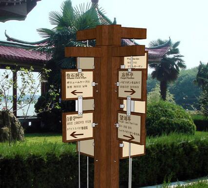旅游标识牌