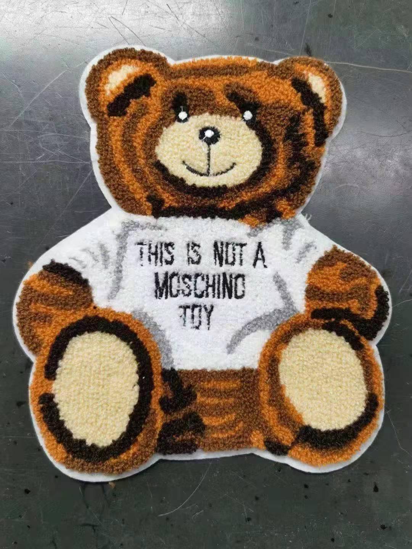 小熊牙刷绣