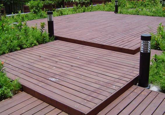 湖北防腐木地板安装时注意什么?