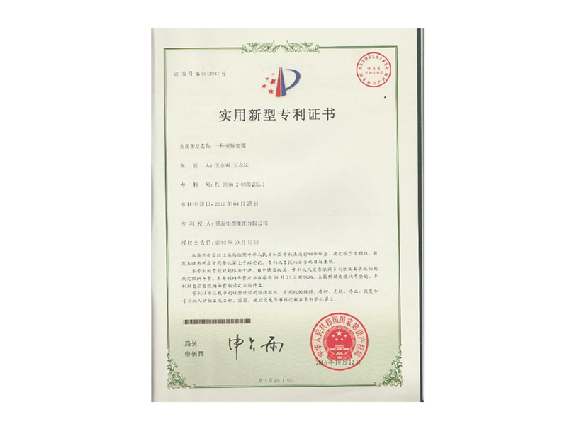 专利证书17