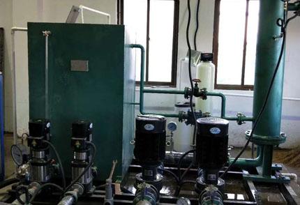 蒸汽换热机组原理