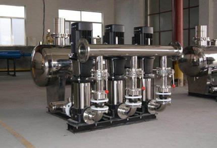 无负压供水设备机组