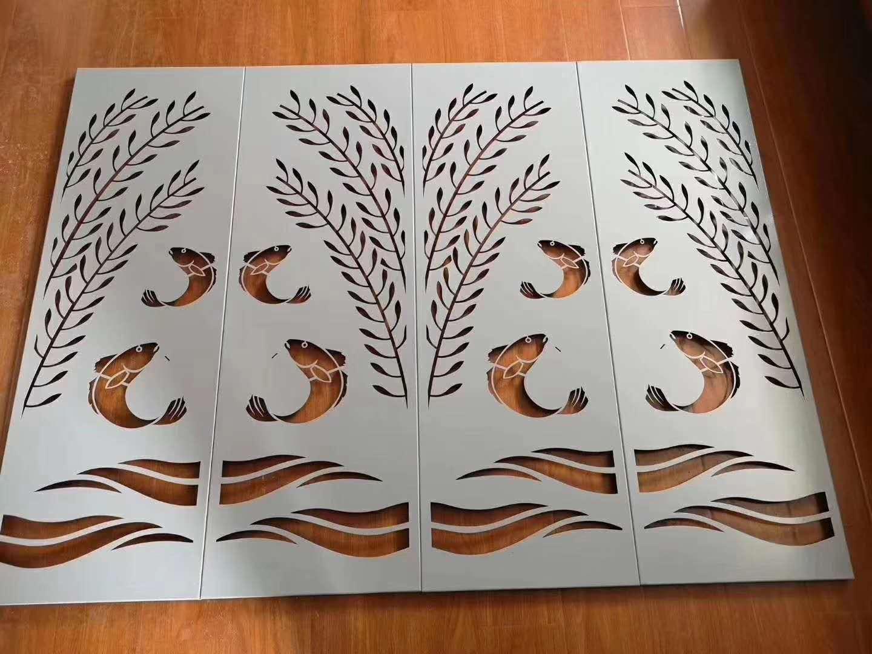 枫烨雕花铝单板 来图定制