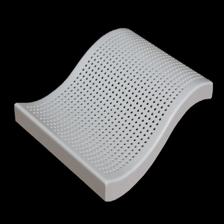 弧形冲孔铝单板异形冲孔铝板来图定制