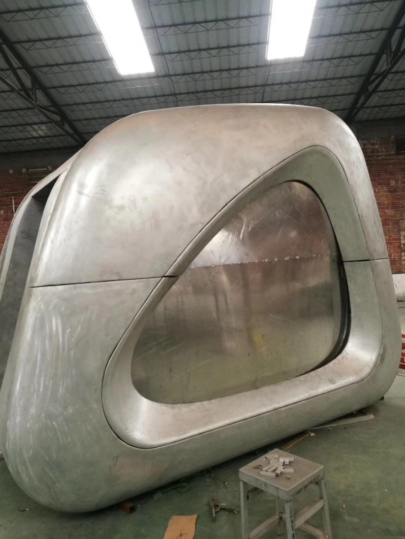 双曲铝板造型板