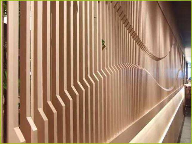 厂家生产供应木纹铝方通吊顶