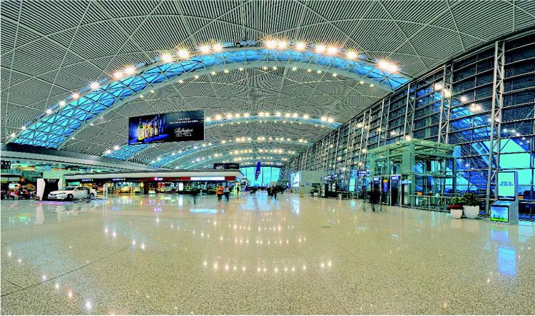 成都国际机场工程案例