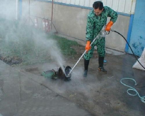 管道疏通为什么要用高压水射流清洗?