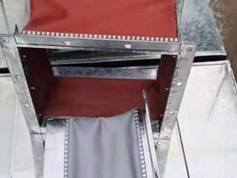 铝箔复核玻纤步软风管