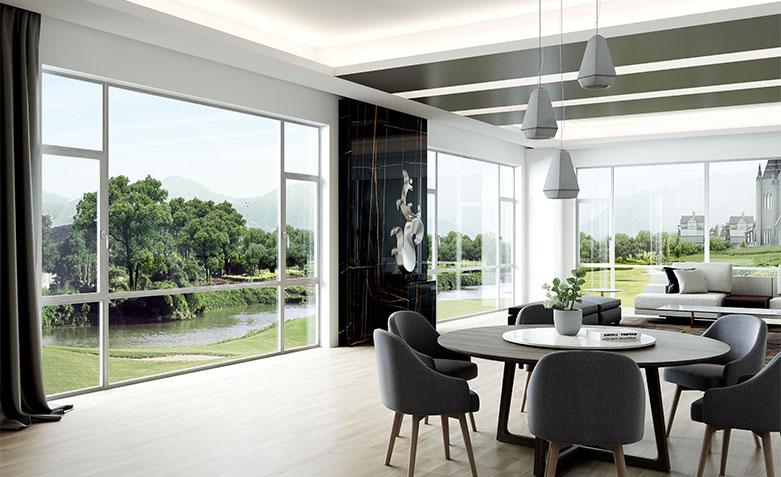 铝合金门窗和塑钢门窗有什么不同?