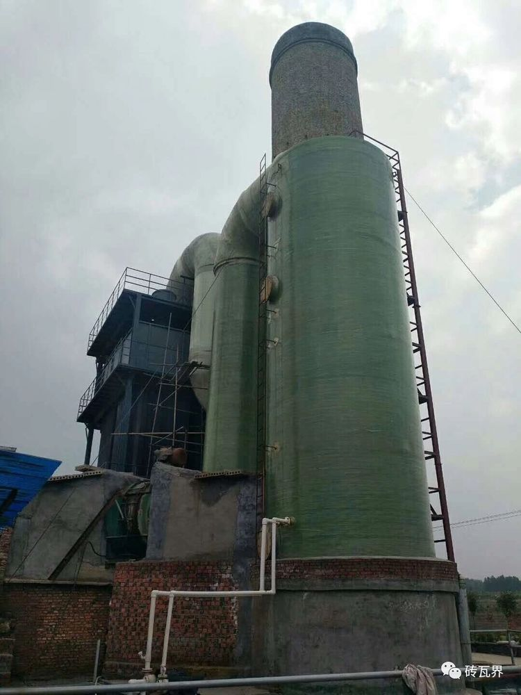 湖南砖厂脱硫塔