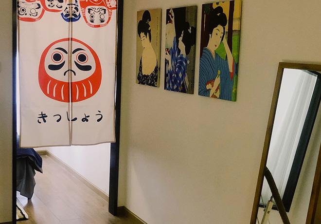 日式民宿一角