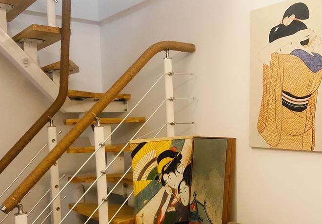 日式民宿楼梯