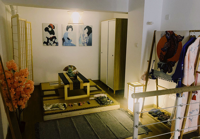 日式风格民宿
