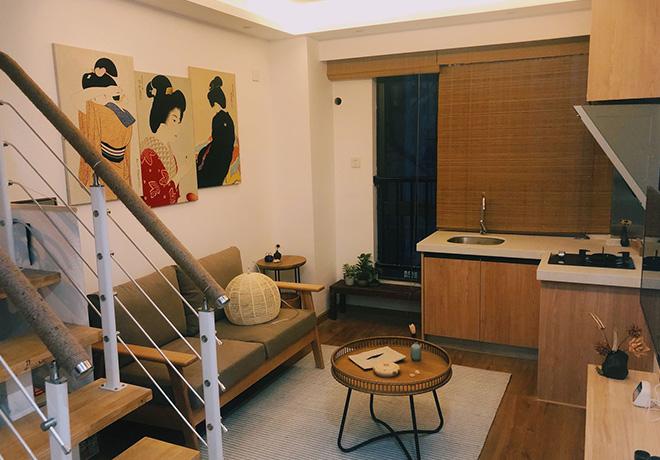 日式民宿室内