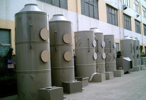 废气处理设备厂家在施工开始时使用新鲜空气代替有机废气
