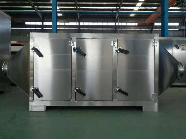 化工厂车间废气使用低温等离子废气处理设备效果显著