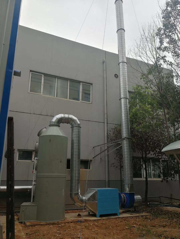 关于定制喷淋塔废气处理设备的具体流程以及注意事项介绍