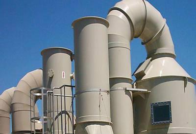 喷淋塔废气处理设备在安装调试完后验收标准是怎样的