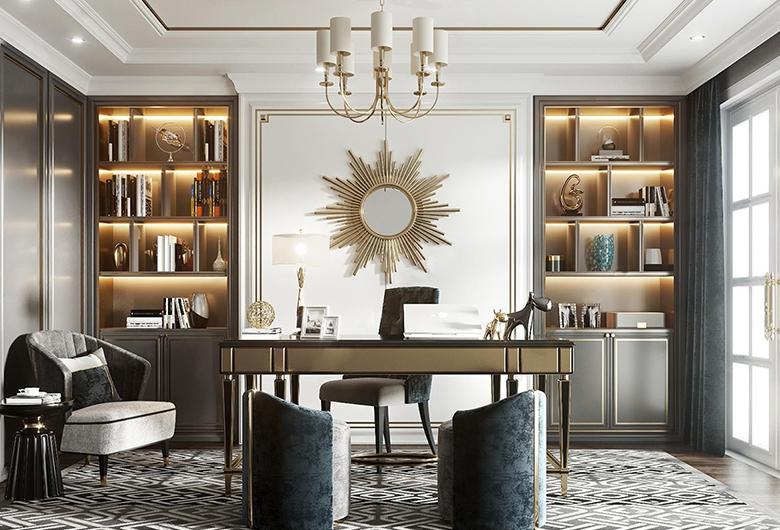江夏区-保利清能西海岸  美式风格  91平方米 三居室