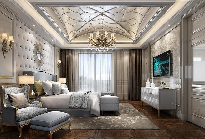 江岸区-首地云梦台   欧式风格  140平方米   三居室