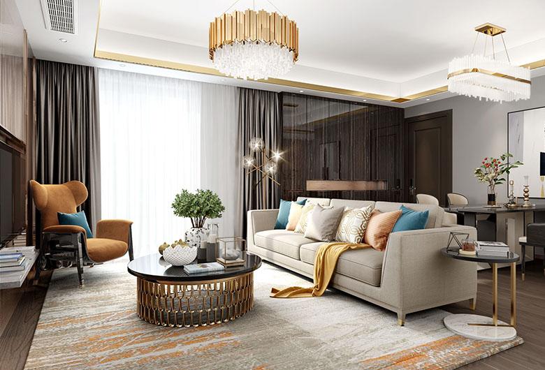 武昌-禧瑞都   混搭风格   96平方米    二居室