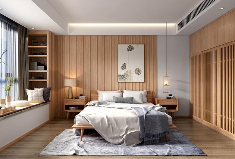 洪山区-保利城四期 105    日式风格  平方米 三居室