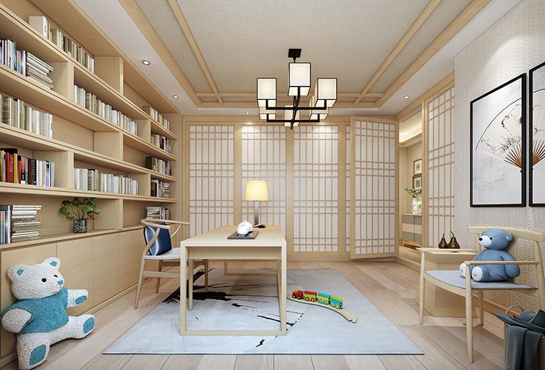汉阳-复地海上海  日式风格  127 平方米   三居室