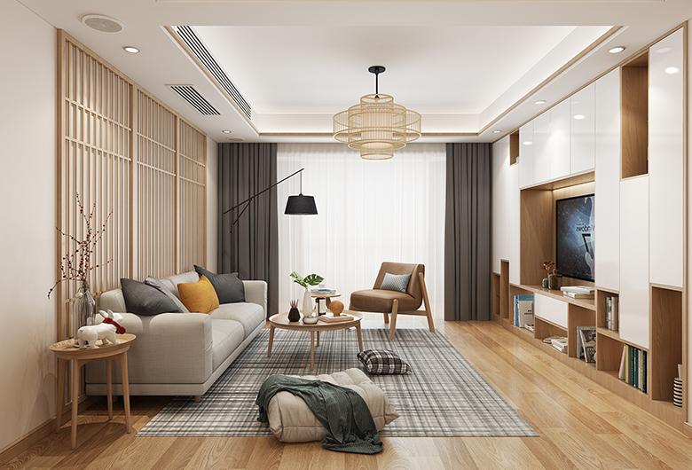 蔡甸区-南益名士公馆  日式风格 140平方米 四居室