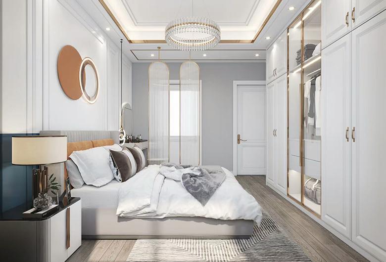 江夏-保利西海岸现代简约  163平方米   三居室