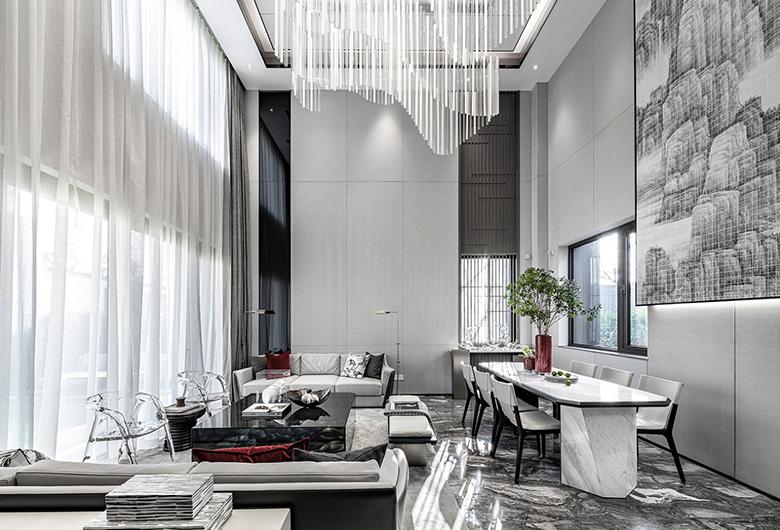 江汉区-CBD楚世家  现代简约  215平方米   四居室