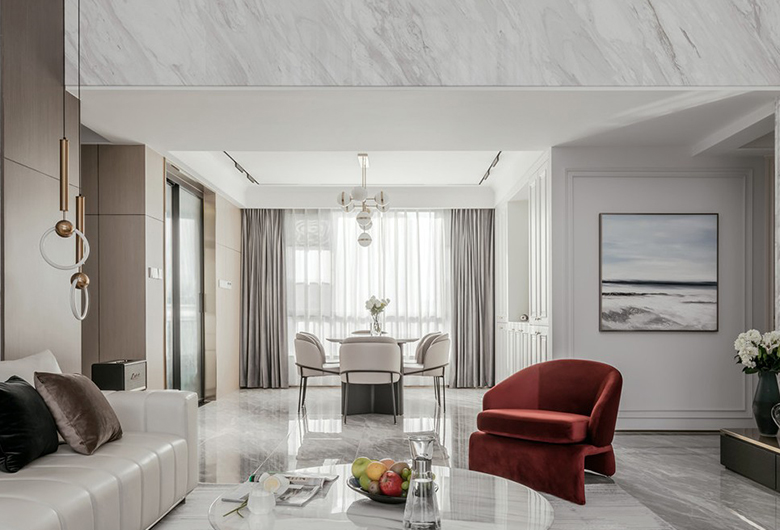 汉阳-米粮新城现代简约    97平方米   二居室