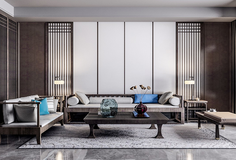 武昌-禧瑞都     新中式风格   96平方米    二居室