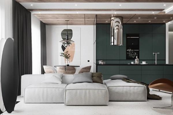 北欧风格 90平方米 三居室