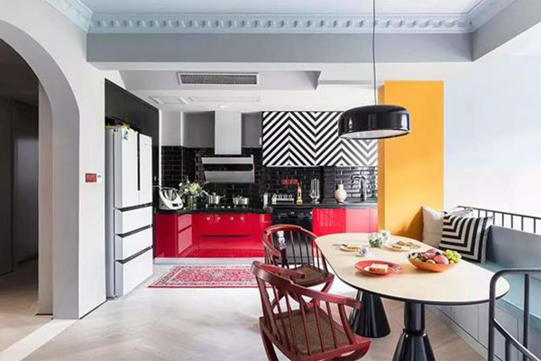 美式风格  103平方米  三居室
