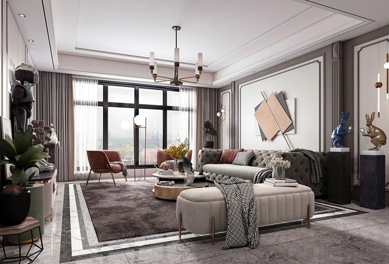 速美宅汇:来谈一谈客厅的墙面设计!