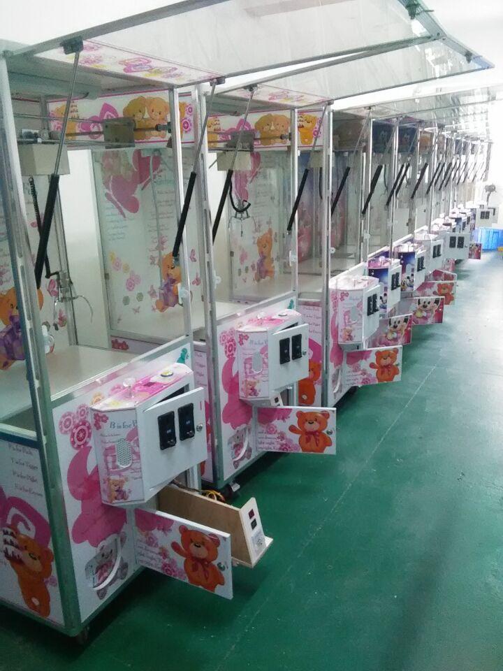 广州毅冠娃娃机配件和生产厂家高清图片